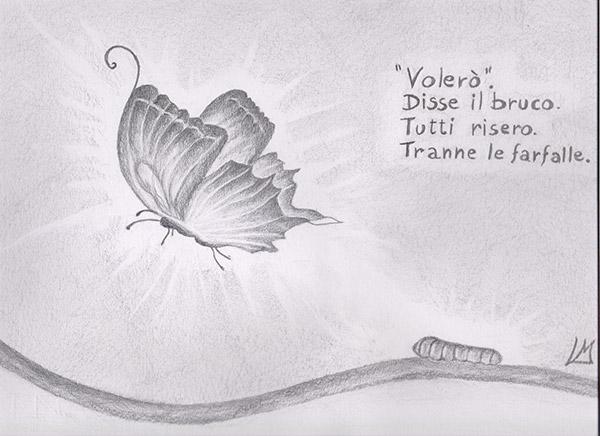 bruco farfalla